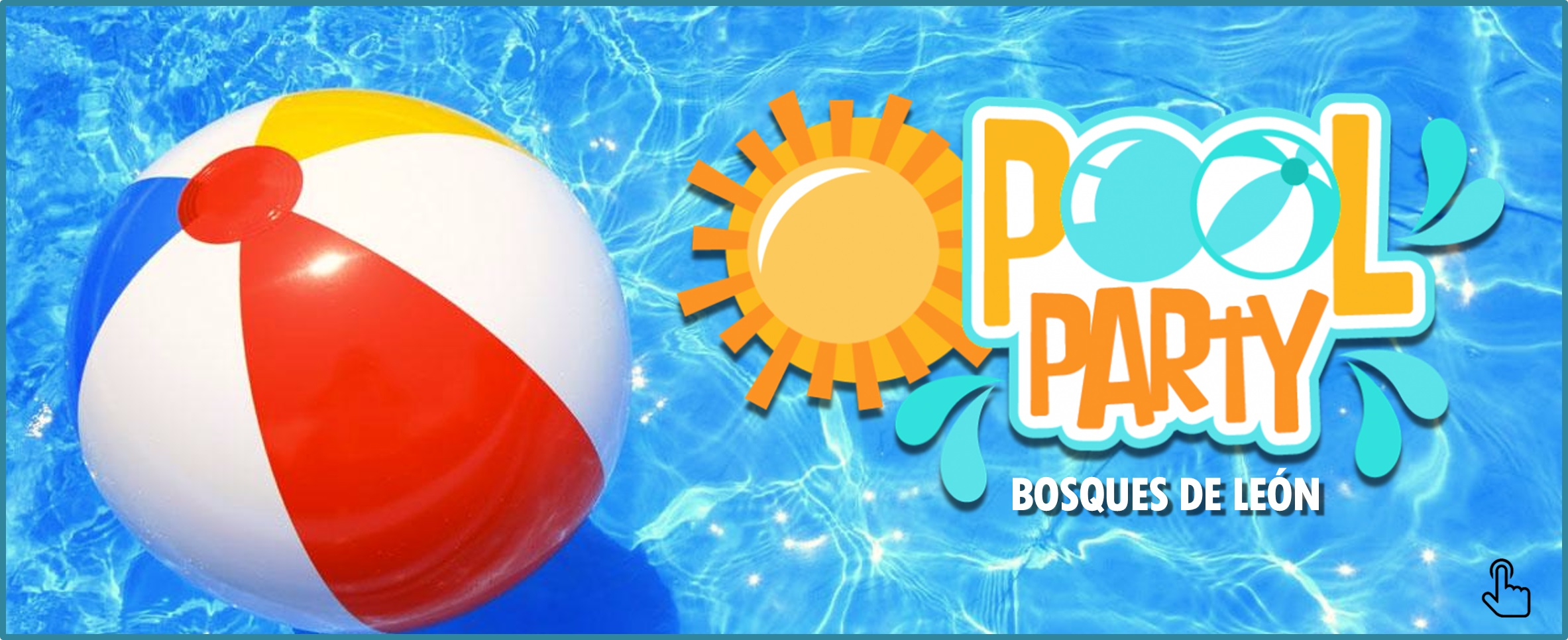 Noticia pool party